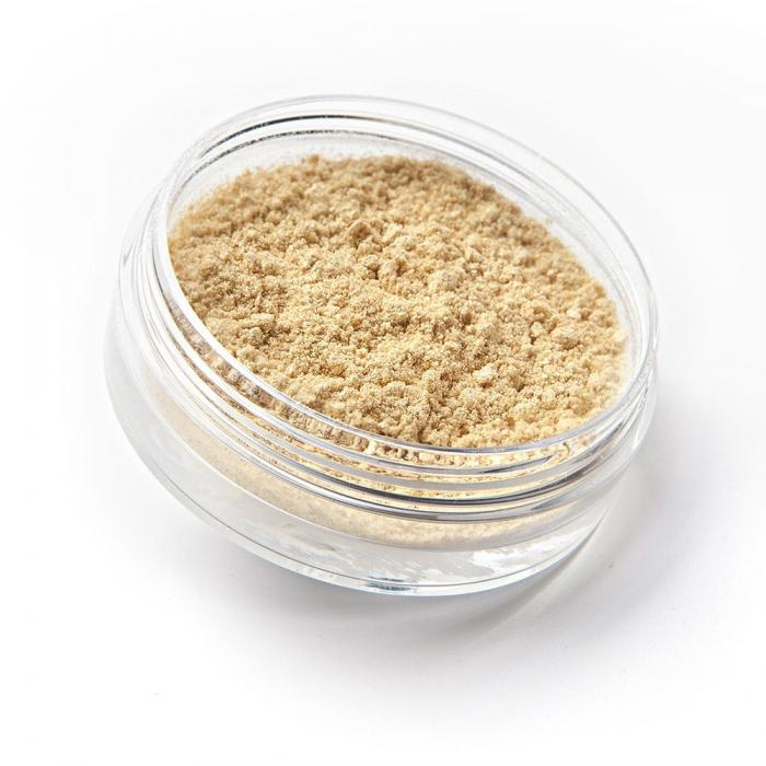 loose eyeshadow GOLDEN WHITE | sdmakeup | www.sdmakeup.com